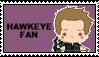 Stamp - Hawkeye Fan by Mibu-no-ookami