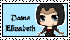 Stamp - Dame Elizabeth by Mibu-no-ookami