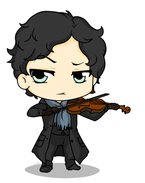 Image result for نقاشی شرلوک هلمز