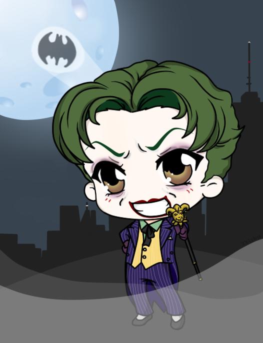 Harley's Joker - Anthony Misiano by Mibu-no-ookami