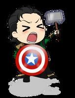 I am Loki, of Asgard... by Mibu-no-ookami
