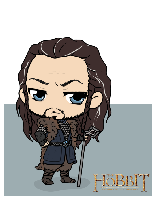 The Hobbit - Thorin Oakenshield by Mibu-no-ookami