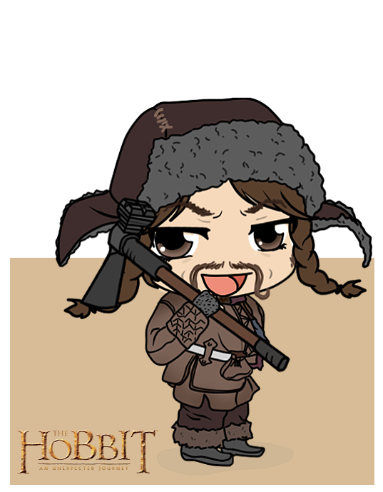 The Hobbit - Bofur by Mibu-no-ookami