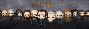 The Hobbit - An Unexpected Chibi Journey by Mibu-no-ookami