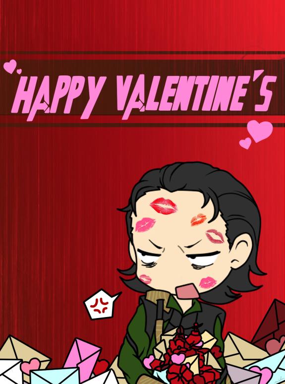 loki, loki's army, loki of asgard, valentine, happy valentine, depepi, depepi.com