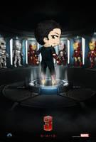 Ironman 3 - Poster by Mibu-no-ookami