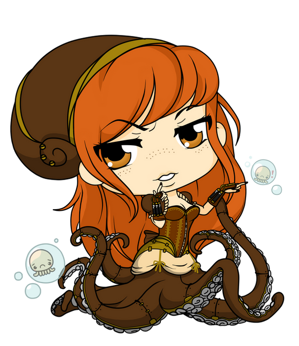 SeaGears - Octopus Queen by Mibu-no-ookami