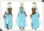 Steampunk Elsa - Cosplay Concept Art