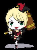 Chibi Cosplay Series - Lisa Lou Who - Harley Quinn by Mibu-no-ookami