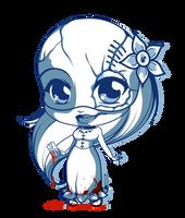 [Auction OPEN]  - Adoptable - Lady Morgue by Mibu-no-ookami