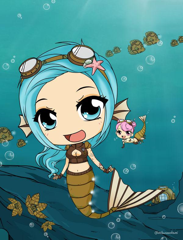 SeaGears - Mechanical Fish + Little Krill
