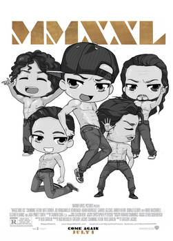 ChibiPosters  - Magic Mike XXL
