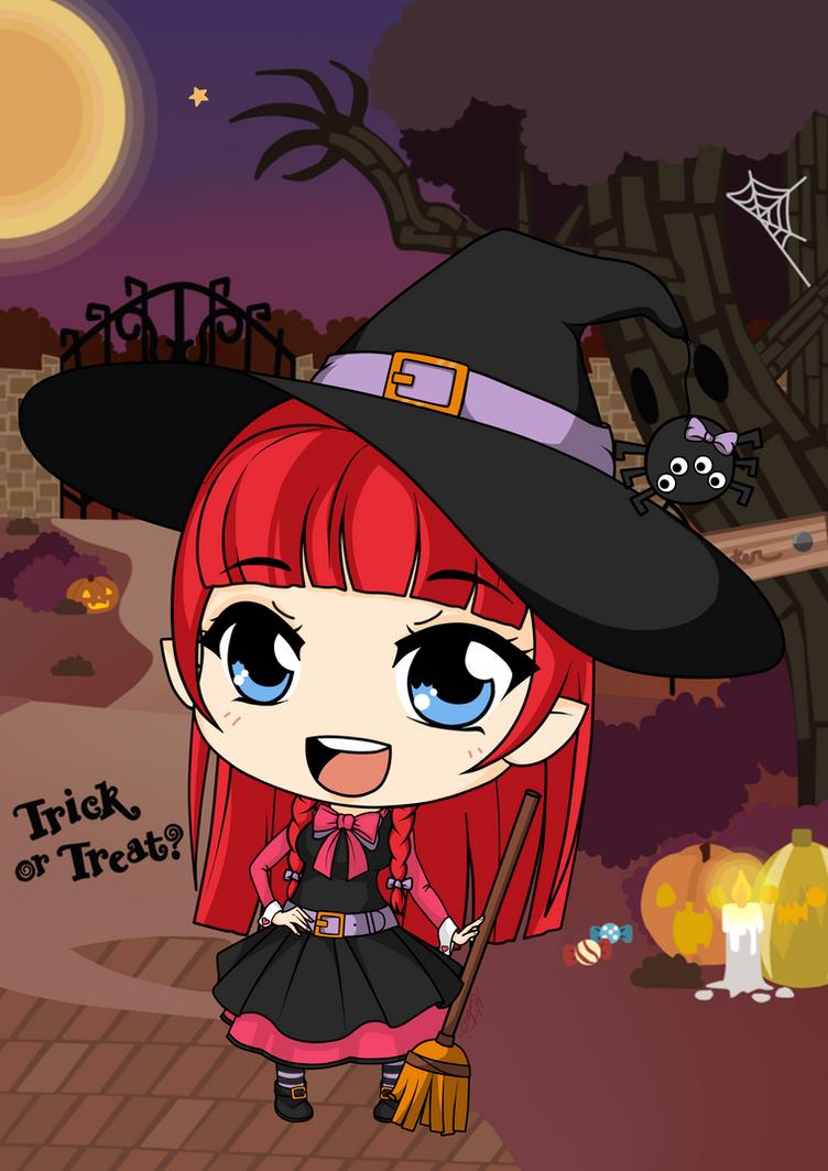 Wanda The Witch by Mibu-no-ookami