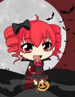 Drawloween2015 - Vampire Teto by Mibu-no-ookami