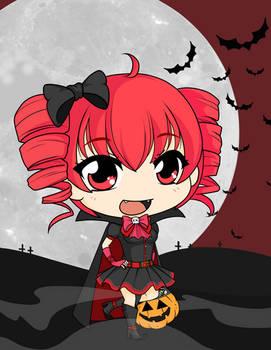 Drawloween2015 - Vampire Teto
