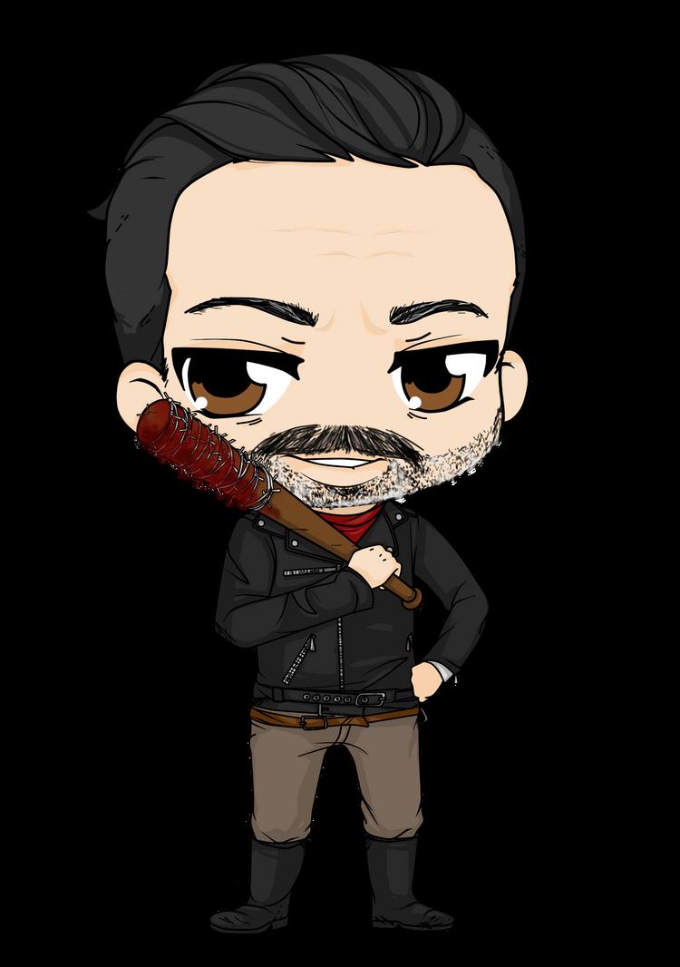 The Walking Dead - Negan by Mibu-no-ookami