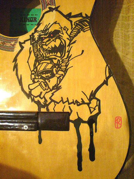 Guitar custom by kwinz