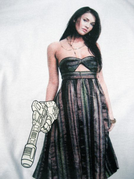 Megan Fox x B.bot t-shirt by kwinz