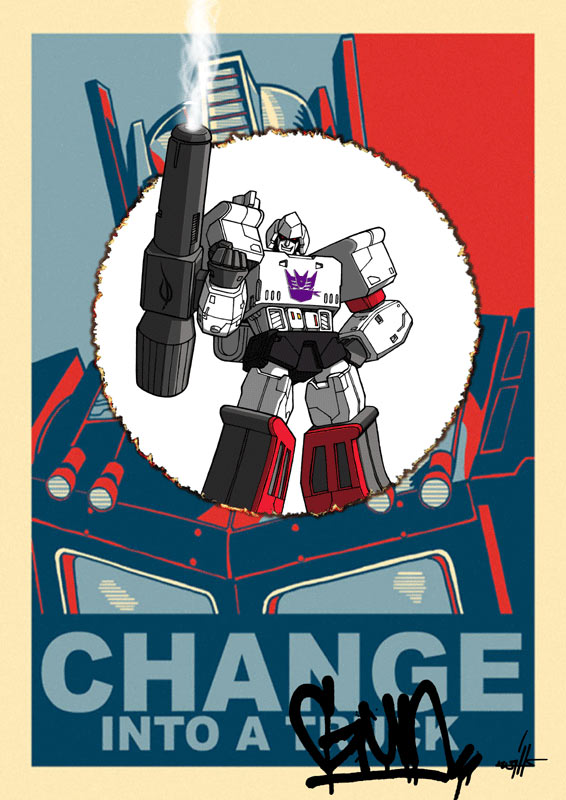 Change into a gun by kwinz