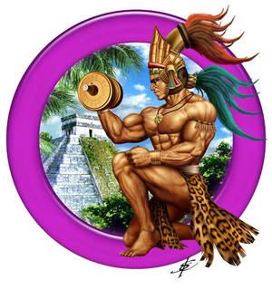 Mayan Bodybuilder