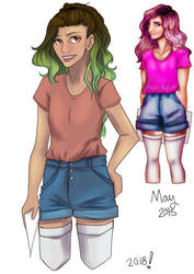 Aura 3 years Progress by drkstars