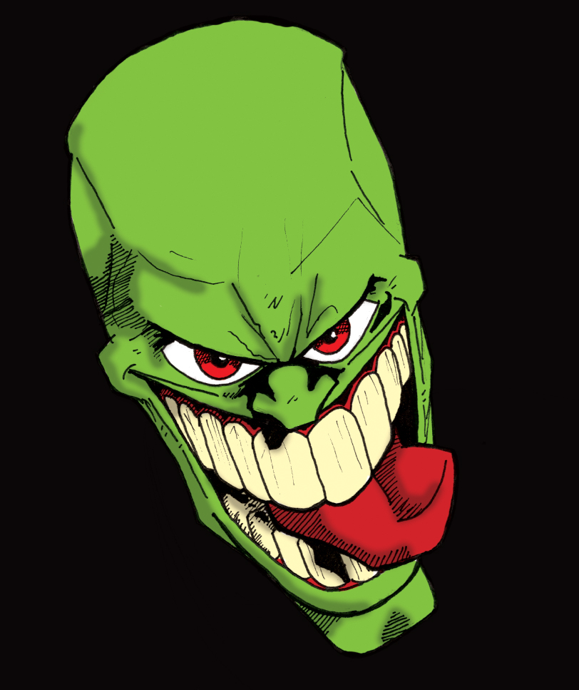 The mask inks colored by happyorangutan on deviantart for The mask photos gallery