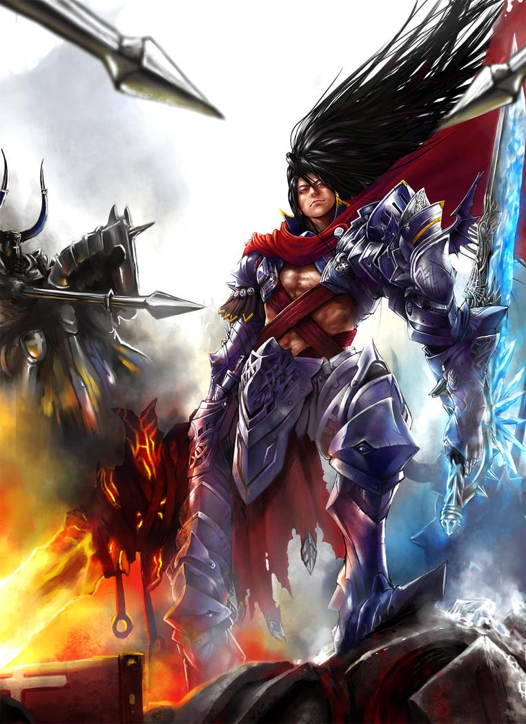 Warrior by Rakuen-ds