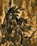 Souix Indian by curetonart