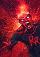 Justice Comrades: Rage Racer by DVan7
