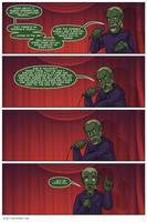 Skrull religion is bullshit by DVan7