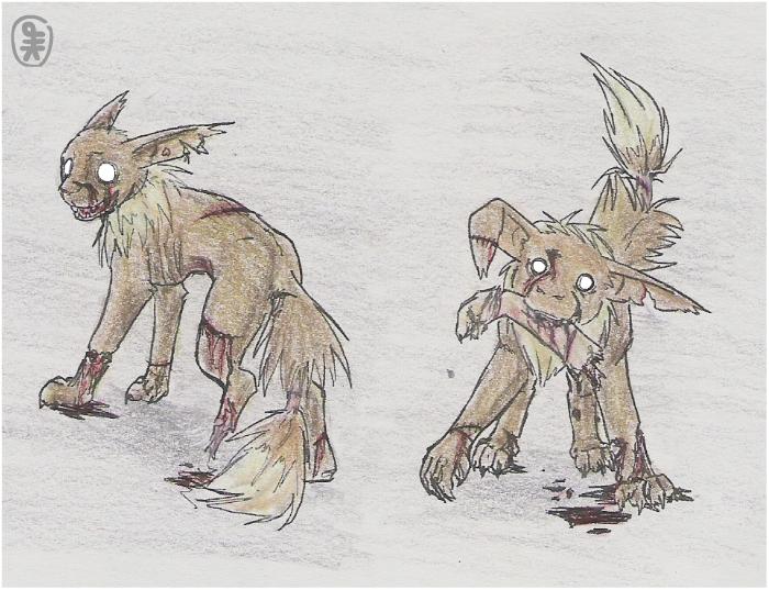 zombie eevees by hirokiro