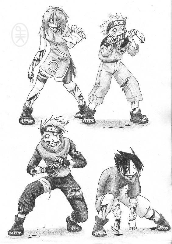 Demon Naruto Vs Marvel Zombies)) (Read First) - Battles - Comic Vine