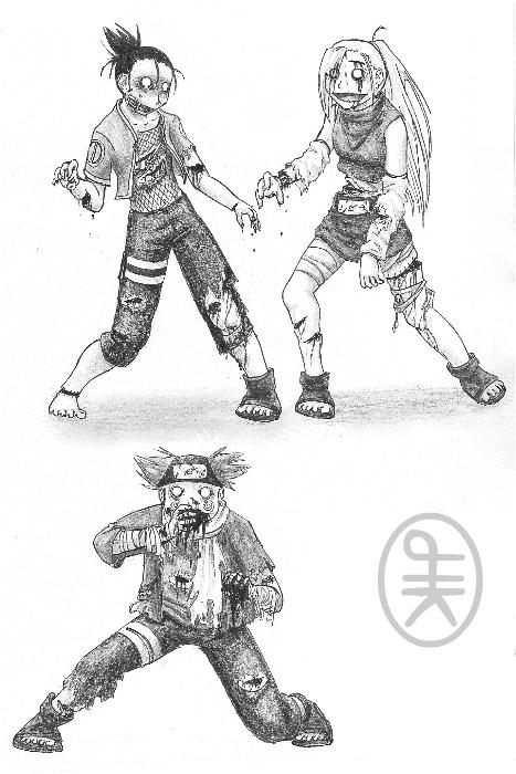 Naruto Zombies 3 by hirokiro on DeviantArt