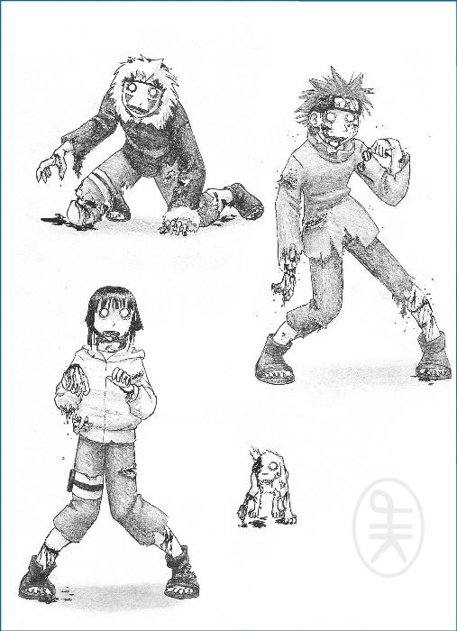 Naruto Zombies 1 by hirokiro on DeviantArt