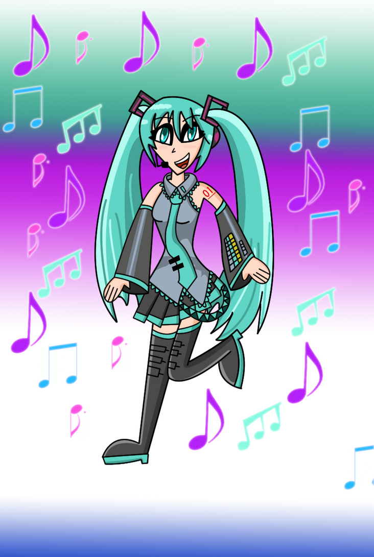 My Hatsune Miku by Christopia1984