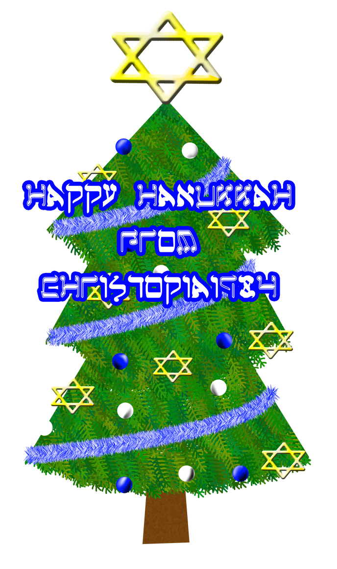 Happy Hanukkah Card 2012 By Christopia1984 On Deviantart