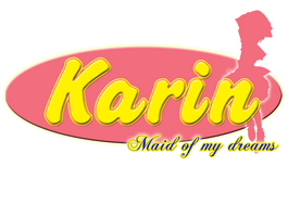 Karin: Maid of my dreams logo by Christopia1984