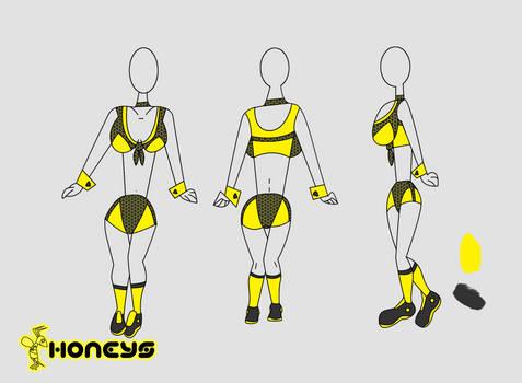 Honeys Uniform base design Ver.2
