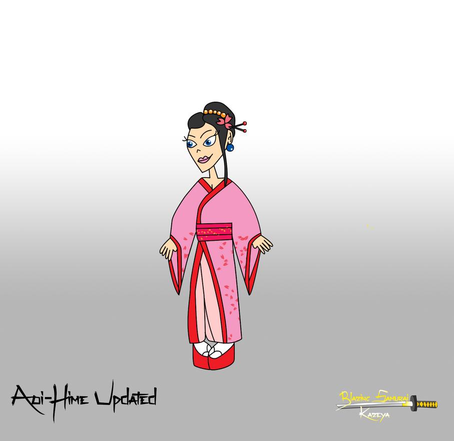 Blazing samurai Aoi-Hime Updated by Christopia1984