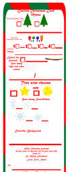 Custom Christmas Cards Meme 2016 by Christopia1984
