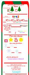 Custom Christmas Cards Meme 2016 Example by Christopia1984