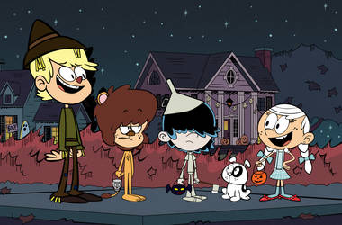 Loud House Halloween by Christopia1984