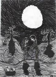 Goths in love.