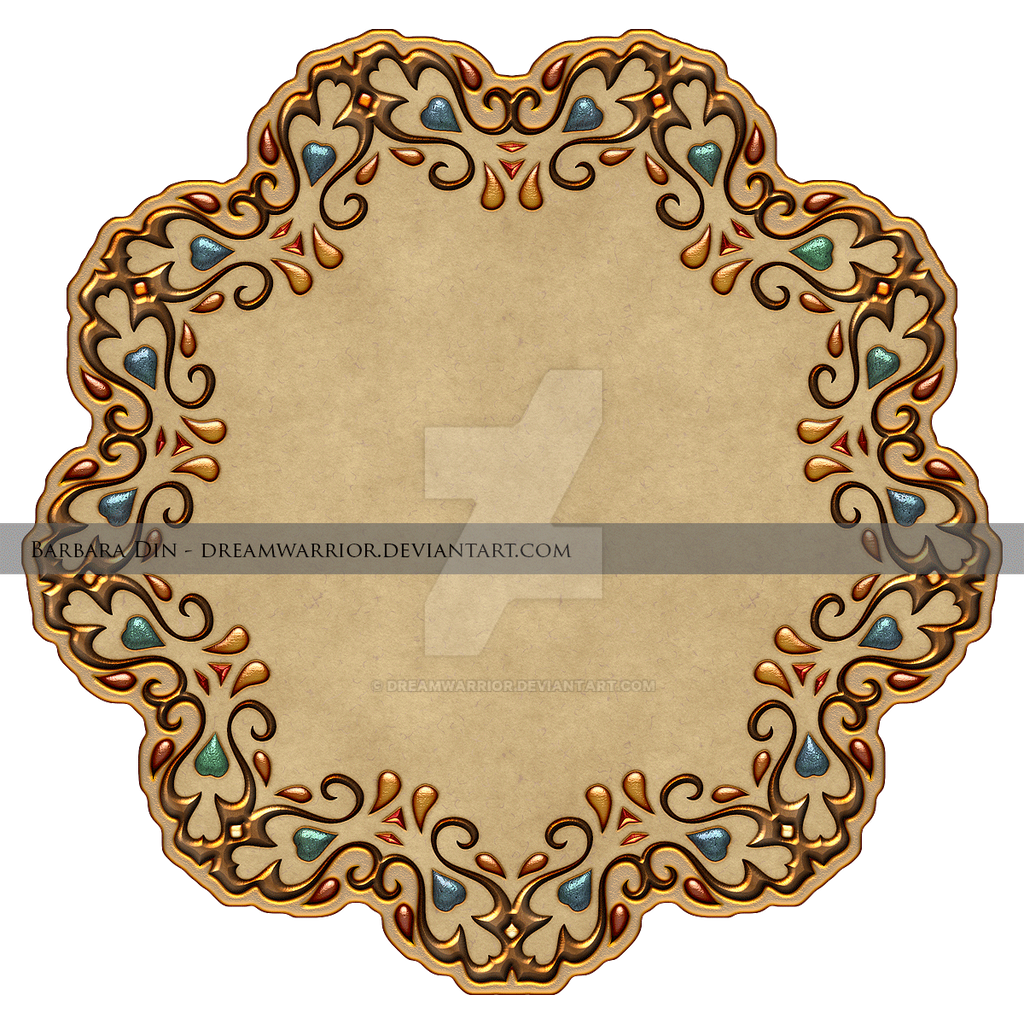 Antique Gold Frame Png Antique Gold Frame Premium