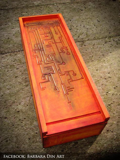 Ancient Alien Message - Box by DreamWarrior