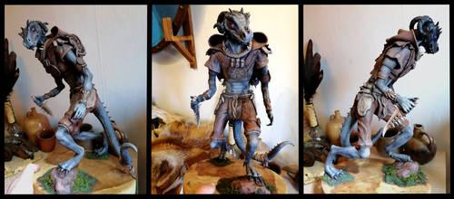 [Argonian] Nhakik Sculpture