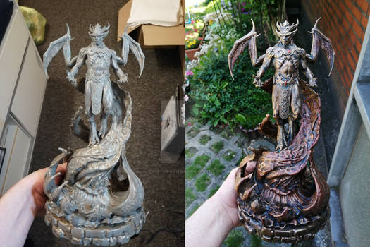 Vampire Lord Statue - Repaint