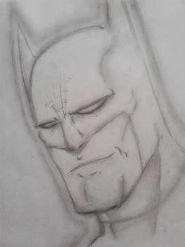 Even Batman can smile