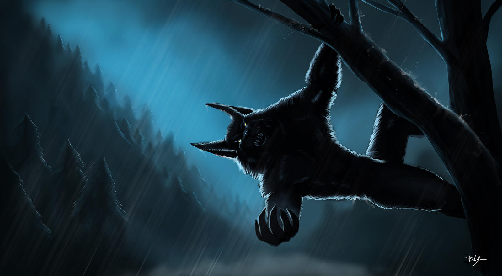 Lycanthrope by Nosfer