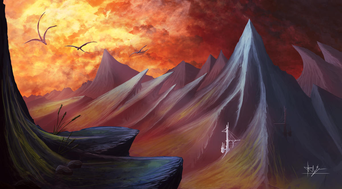 Valley of the Drakelings by Nosfer